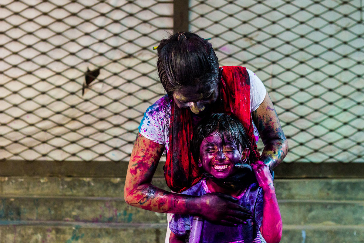 holi colour festival